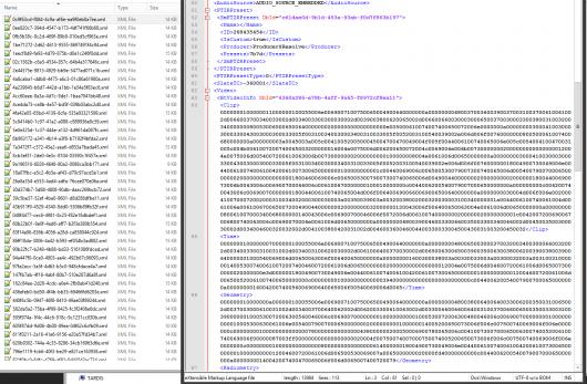 Media-Ref XMLs
